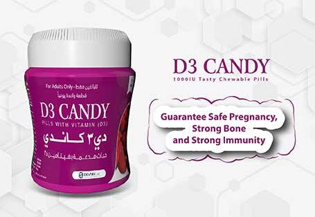 d3 candy